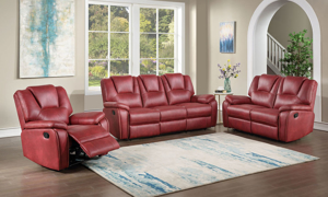 Katrine Red Manual Recliner
