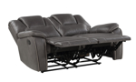 Katrine Charcoal Reclining 2-Piece Living Room Set