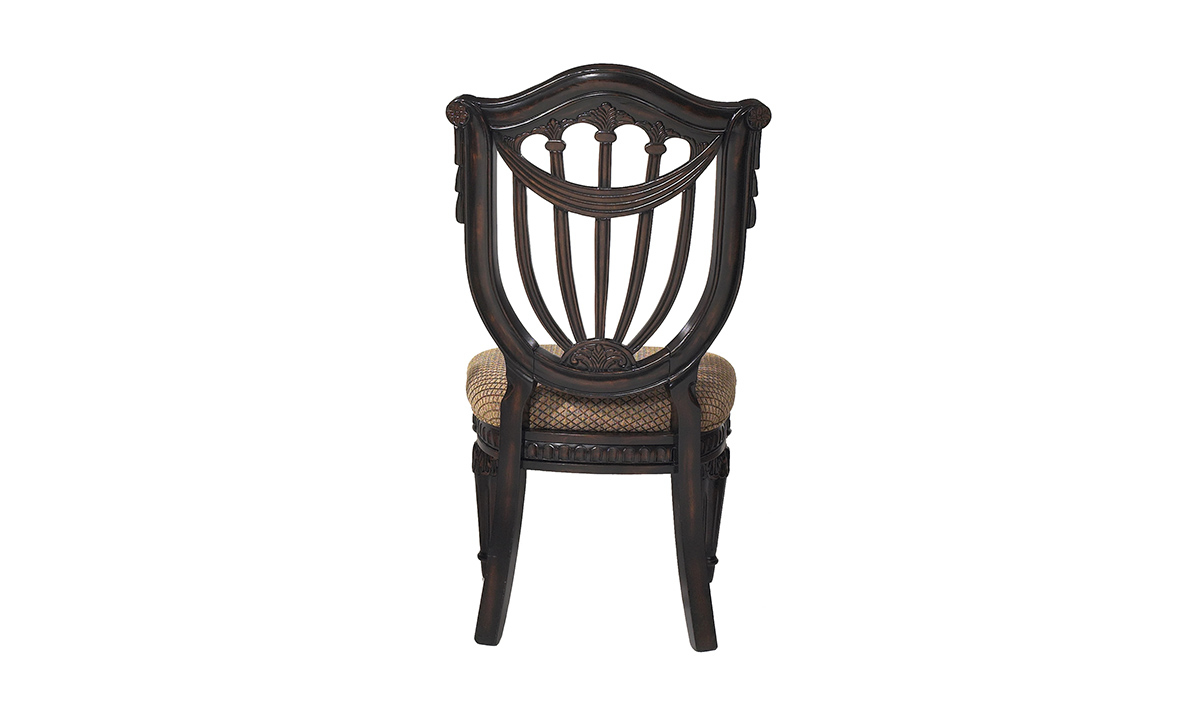 Grand Estates Wood Shield Side Chair