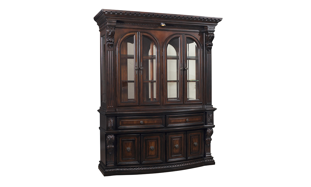 Grand Estates China Cabinet Display Case