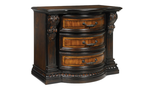 Grand Estates 3-Drawer Nightstand