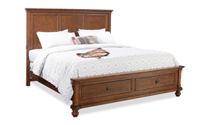 Oxford Whiskey Panel Storage Bedroom Sets
