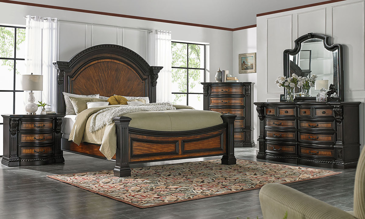 Picture of Grand Estates Arched Panel Bedroom Sets