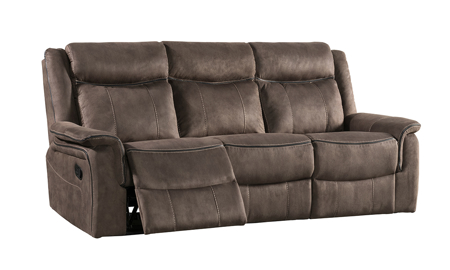 Kisner Mink 3-Piece Reclining Living Room Set