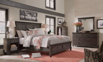 Oxford Peppercorn Panel Storage Beds