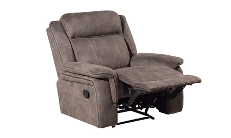 Kisner Mink Manual Recliner