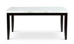 Westby White Marble Dining Table