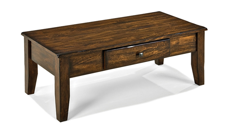 Kona Raisin Solid Mango Wood Cocktail Table