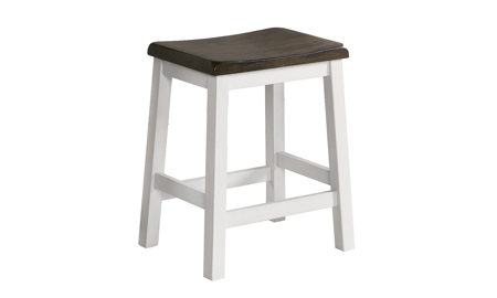 Kona Grey Solid Mango Wood Bar Stool