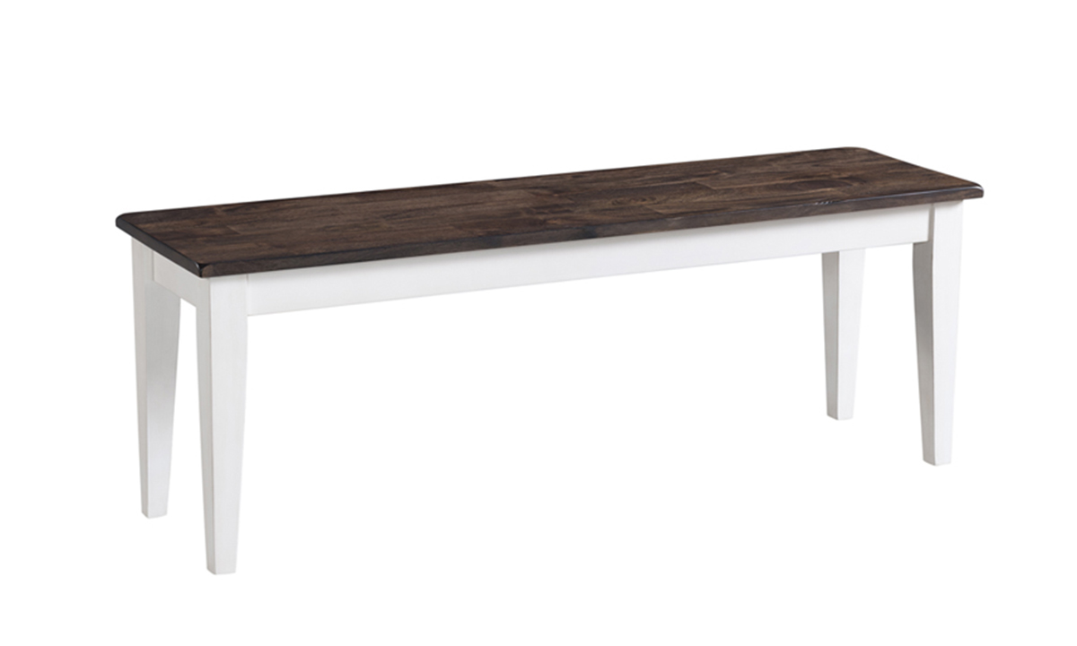 Kona Grey Solid Mango Wood Dining Bench