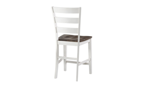 Kona Grey Solid Mango Wood Counter Height Stool