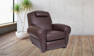 Coffee Bean Memory Foam Power Recliner