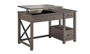 Dexter Driftwood Lift-Top Desk