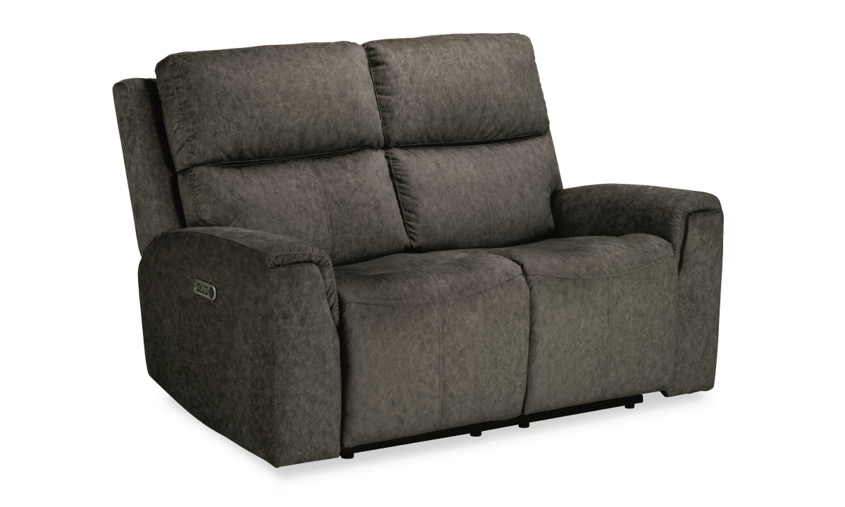 Picture of Cristiano Mushroom Power Reclining Loveseat