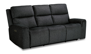 Cristiano Graphite Power Reclining Sofa