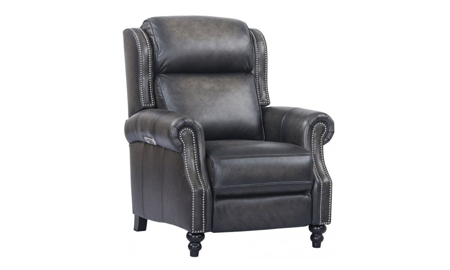 Franklin Shadow Top Grain Leather Power Recliner with Power Headrest