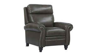 Douglas Twilight Top Grain Leather Power Recliner with Power Headrest
