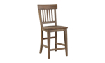 Riverdale Driftwood 5-Piece Counter Height Dining Set