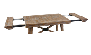 Riverdale Driftwood Counter Height Dining Table