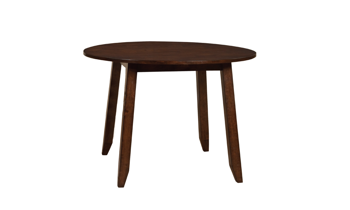 Picture of Kona Raisin Solid Mango Wood Round Drop Leaf Table