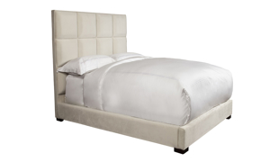 Madison Pearl Upholstered Panel Beds
