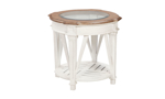 Cottage Cream 3-Piece Occasional Table Set