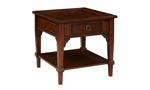 Stafford Brown 1-Drawer End Table