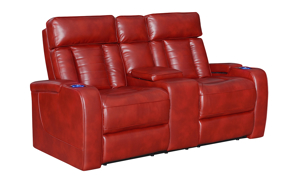 Sarasota Red Power Reclining 3-Piece Living Room Set