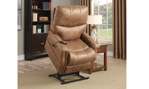 Loren Saddle Power Reclining Lift Chair