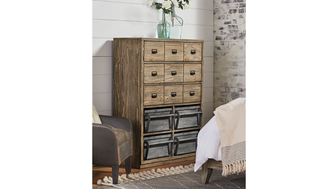 Magnolia Home Workshop Ecru 7-Drawer Chest
