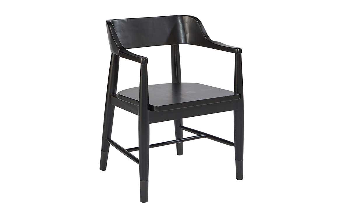 Picture of Magnolia Home Captain Black Arm Chair