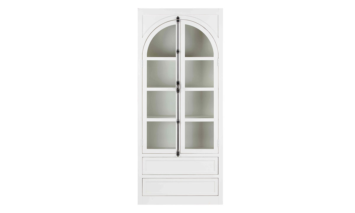 Picture of Magnolia Home Luna  Arched Curio Cabinet