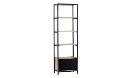 Magnolia Home Elemental Black Metal Shelf