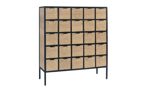 Magnolia Home Utility Grid Brown 25-Drawer Chest