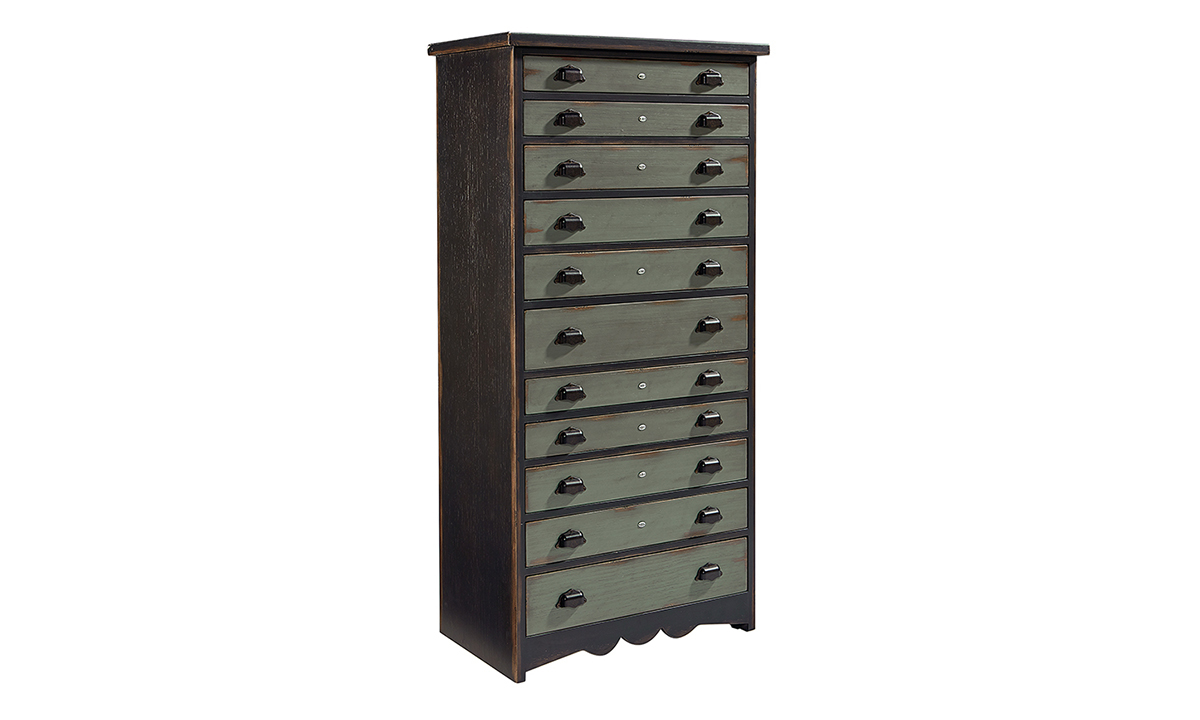 Magnolia Home Library Patina 11-Drawer Chest