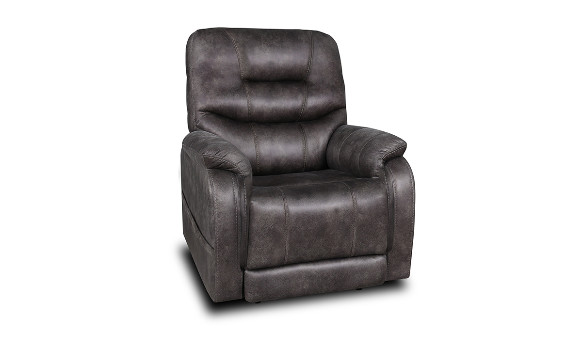 Picture of Roadhouse Smoke Power Layflat Recliner