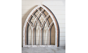Magnolia Home Lancet Brown Cathedral Arch Wall Panel