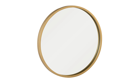 Magnolia Home Round Era Bronze Wall Mirror