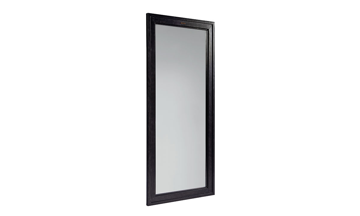 Picture of Magnolia Home Foundry Black Metal Floor Mirror