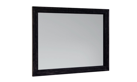 Magnolia Home Foundry Black Metal Wall Mirror
