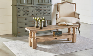Magnolia Home Danish Wheat Hall Bench