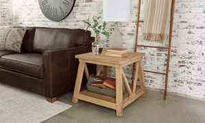 Magnolia Home Joiner's Rafter End Table