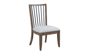 Bohemian Cocoa Brown Dining Chair