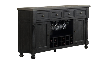 Briarwood Washed Black Server