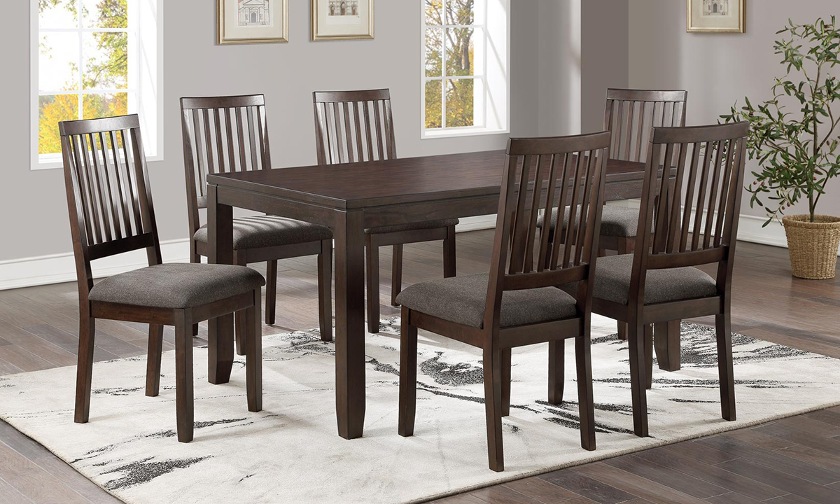 Picture of Yorktown Espresso 7-Piece Dining Set