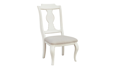 Lafayette French White Side Chair