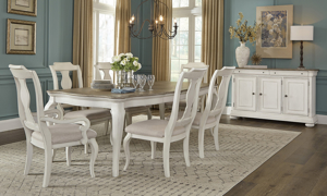 Lafayette French White Arm Chair