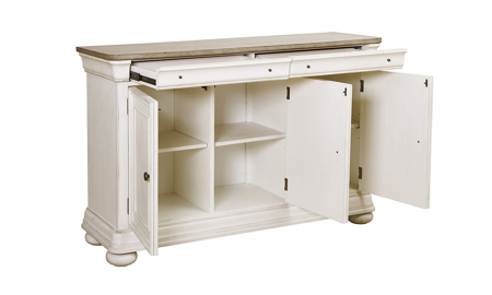 Lafayette French White Server