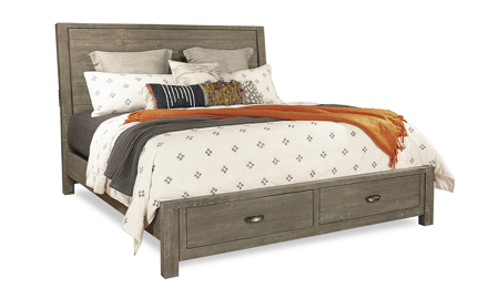 Radiata River Rock Sleigh Storage Beds