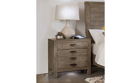 Radiata River Rock 2-Drawer Nightstand